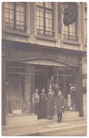 Dinant , Carte Photo , Léon Simon - Gilles  , Peintures Décors . 64 Rue Adolphe Sax - Dinant