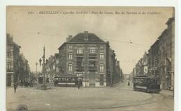 CP.Bruxelles-Schaerbeek (ex-Collection DELOOSE) - (Les TRAMWAYS TRAM BRUXELLOIS) Place Des Gueux, Rue Des Patriotes Et D - Schaarbeek - Schaerbeek