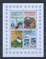 Switzerland 1987 Mi Block 25 Canceled - Blocks & Sheetlets & Panes