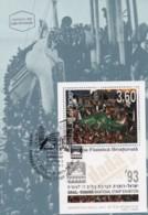 ISRAEL, 1993, Maxi-Card(s), Telefila '93, SGMS1224, F5459 - Tarjetas – Máxima
