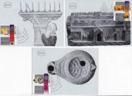 ISRAEL, 1993, Maxi-Card(s), Hanukka Festival, SG1225-1227, F5460 - Tarjetas – Máxima