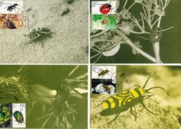 ISRAEL, 1994, Maxi-Card(s), Insects - Beetles, SG1229-1232, F5462 - Tarjetas – Máxima