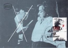 ISRAEL, 1994, Maxi-Card(s), No To Violence, SG1241, F5467 - Tarjetas – Máxima