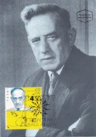 ISRAEL, 1994, Maxi-Card(s), Saul Adler - Scientists, SG1242, F5466 - Tarjetas – Máxima