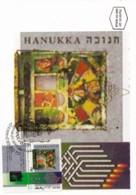 ISRAEL, 1994, Maxi-Card(s), Hanukka Festival, SG1260, F5475 - Tarjetas – Máxima