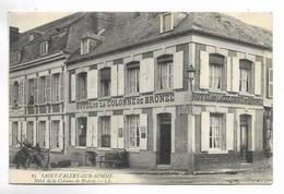 80 - SAINT-VALERY-SUR-SOMME - Hôtel De La Colonne De Bronze. Belle Carte - Saint Valery Sur Somme