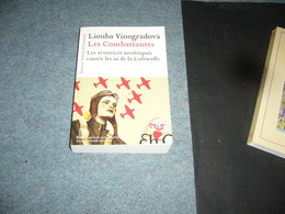 ( Guerre 39-45 Aviation Luftwaffe Russie URSS  ) L. Vinogradova  Les Combattantes - Guerra 1939-45