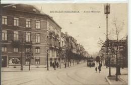 CP.Bruxelles-Schaerbeek (ex-Collection DELOOSE) - (Les TRAMWAYS TRAM BRUXELLOIS) Avenue Milcamps TRAM 72 - W0260 - Schaarbeek - Schaerbeek