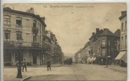CP.Bruxelles-Schaerbeek (ex-Collection DELOOSE) - (Les TRAMWAYS TRAM BRUXELLOIS) Chaussée De Louvain TRAM En 1924 - W026 - Schaarbeek - Schaerbeek
