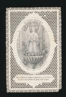 HEILIG PRENTJE IMAGE PIEUSE -  LE PETIT BENITIER  10 X 6.5 CM  TURGIS 104   2 SCANS - Images Religieuses