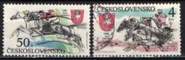 CECOSLOVACCHIA - 1990 - Grand Pardubice Steeplechase - USATI - Gebraucht