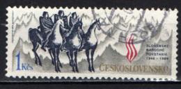 CECOSLOVACCHIA - 1989 - Slovak Uprising, 45th Anniv. - USATO - Usati