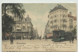 CP.Bruxelles-Schaerbeek (ex-Collection DELOOSE) - (Les TRAMWAYS TRAM BRUXELLOIS) La Porte De Louvain TRAM 429 - W0265 - Schaarbeek - Schaerbeek