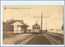 XX008223/ Belgien Duinbergen Arrivée Du Tram Straßenbahn AK - Unclassified