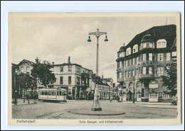 XX007821/ Halberstadt Ecke Spiegel- Und Wilhelmstraße Straßenbahn AK - Germany