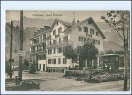 XX007774/ Schweiz Engelberg Hotel Schöntal Straßenbahn Ca.1920 AK - Switzerland