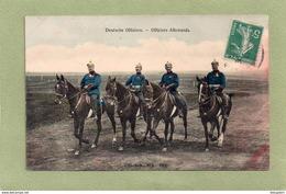 DEUTSCHE OFFIZIERE   OFFICIERS ALLEMANDS - Guerra 1914-18