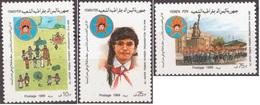 South Yemen 1989 15th Anniversary Of Ali Anter Yemeni Pioneer Organization MNH Full Set [Scott 434 - 435 - 436] - Jemen