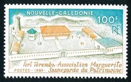 NOUV.-CALEDONIE 1989 - Yv. 584 **   Faciale= 0,84 EUR - Fort Teremba, Sauveg. Du Patrimoine  ..Réf.NCE25296 - Unused Stamps