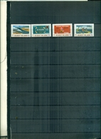GILBERT ISLAND XXV RETOUR DE L'ECOLE ROI GEORGE V A TARAWA  4 VAL NEUFS A PARTIR DE 0.60 EUROS - Gilbert- Und Ellice-Inseln (...-1979)