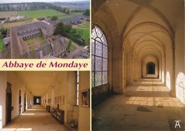14 Abbaye De Mondaye Divers Aspects (2 Scans) - Francia
