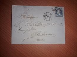 Lettre Facture Aubusson - 1862 Napoleon III