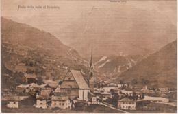 1917-Trento Parte Della Valle Di Primiero Non Viaggiata - Trento