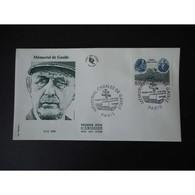 FDC - Mémorial Charles De Gaulle - Oblit Paris 18/6/08 (gravée Taille Douce) - FDC