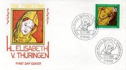 "BRD Schmuck-FDC ""750. Todestag Der Hl. Elisabeth"" Mi.1114  ESSt BONN 1, 12.11.1981 - FDC: Covers"