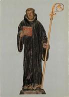 80 - Saint Valery Sur Somme - Eglise Saint Martin - Statue De Saint Valéry - Ermite Et Missionnaire De 611 à 622 - Art R - Saint Valery Sur Somme