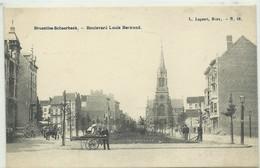CP.Bruxelles-Schaerbeek (ex-Collection DELOOSE) - Av. Louis Bertrand Vers L'Eglise Saint-Servais 1900 - W0286 - Schaerbeek - Schaarbeek
