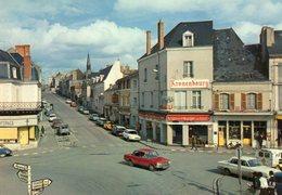 Argenton Sur Creuse   Sur La Nationale 20  La Place   Edit  Theojac  Non Ecrite - France