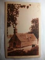 Carte Postale Sainte Marine (29) La Chapelle (Petit Format Noir Et Blanc Oblitérée Timbre 20 Centimes ) - Combrit Ste-Marine