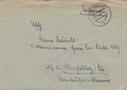 Feldpost Mit Inhalt - Hof/Saale Nach Gren. Ers. Batl. 109 Strassburg - 1944 (46235) - Deutschland