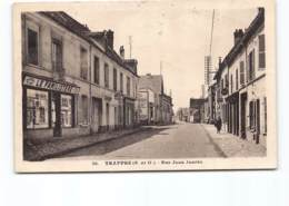Trappes.  1945.  Rue Jean Jaures. Familistere  Tabac. Edit David. - Trappes