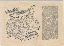 "1944-busta Non Affr. ""Posta Da Campo / D / 9.10.44"" Indicazione Manoscritta Feldpost 80931 B - Marcophilie"