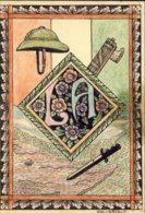 1936-AOI Cartolina Postale Forze Armate Interamente Disegnata A Mano - Guerra 1939-45