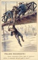 1924-cartolina Propaganda Anticomunista A Cura Del Partito Nazionale Fascista - Patriottiche
