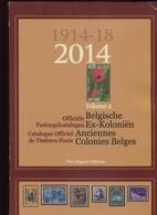 2014 Officiele Postzegelcatalogus - Catalogue Timbres Postes - Uitgave / Edition 59 - Volume 2 Colonies Kolonien - België