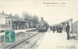 FRONTIGNAN - La Gare - - Train Bon Plan    (2025 ASO) - Frontignan