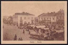 Poland, Chelm, Rynek, Mailed 1918 - Polen