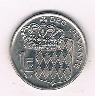 1 FRANC 1978 MONACO /43/ - Monaco