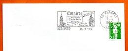 59 ESTAIRES   CAVALCADE   1990 Lettre Entière N° BC 807 - Postmark Collection (Covers)