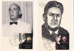ISRAEL, 1995, Maxi-Card(s), Famous Musicians, SG1266-1267, F5485 - Tarjetas – Máxima