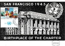 ISRAEL, 1995, Maxi-Card(s), U.N. 50 Years, SG1271, F5482 - Tarjetas – Máxima