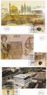 ISRAEL, 1995, Maxi-Card(s), Jerusalem City 3000, SG1286-1288, F5492 - Tarjetas – Máxima
