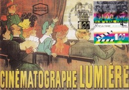 ISRAEL, 1995, Maxi-Card(s), Cinema, SG1295, F5497 - Tarjetas – Máxima