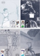 ISRAEL, 1996, Maxi-Card(s), Sport, SG1301-1309, F5501 - Tarjetas – Máxima