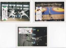 ISRAEL, 1996, Maxi-Card(s), Olympic Games - Atlanta, SG1332-1334, F5510 (2 Series - Tarjetas – Máxima