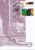 ISRAEL, 1996, Maxi-Card(s), Building Highways - PWD, SG1339, F5514 - Tarjetas – Máxima
